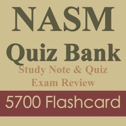 NASMapp Exam review 5700 Flashcard Quiz & Study Note