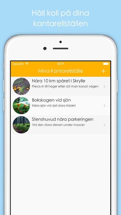 Screenshot for Mush - Mina Kantarellställen in Sweden App Store