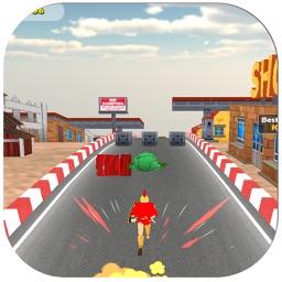 3D Superhero - Endless City Runner Free Game