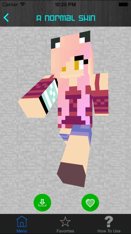 Girl Skins for Minecraft PE (Pocket Edition) - Best Free Skins App for MCPE. screenshot-4