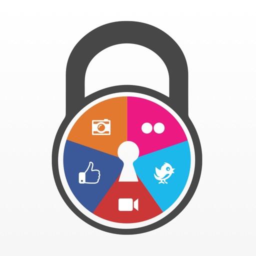 قفل التطبيقات و البرامج الخاصة بالشبكات الاجتماعية برقم سري