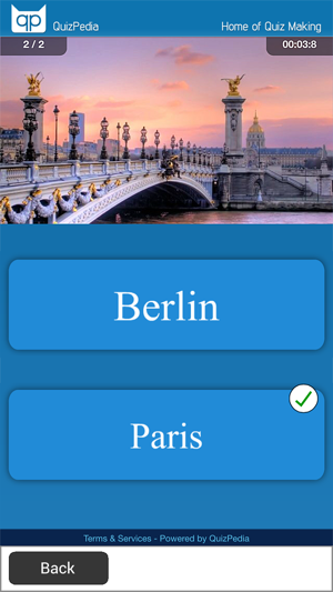 ‎Quiz Creator - Take, Share and Publish Quizzes Screenshot