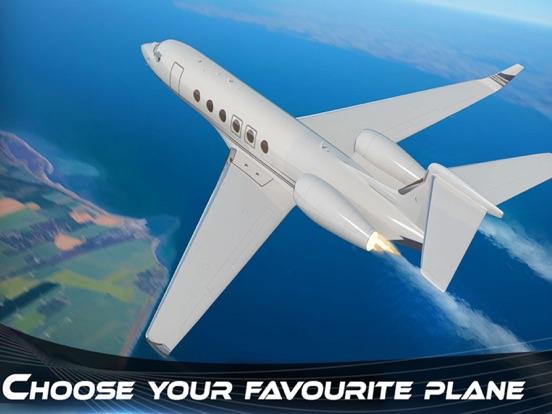 Самолет симулятор полета 3D - струйного игра реали на iPad