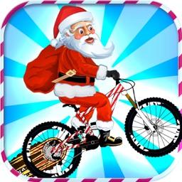 santa bike game - Free Funny Racing Game with Santa