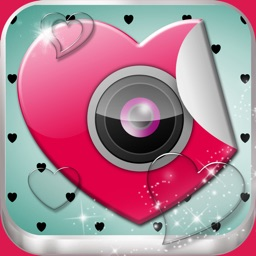Valentine's Day Edition of Love Photo Frames with Cute Stickers and Camera Effects