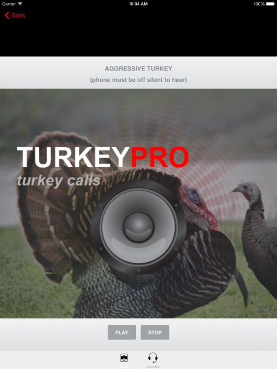 Turkey Calls - Turkey Sounds -Turkey Caller App HD screenshot-3