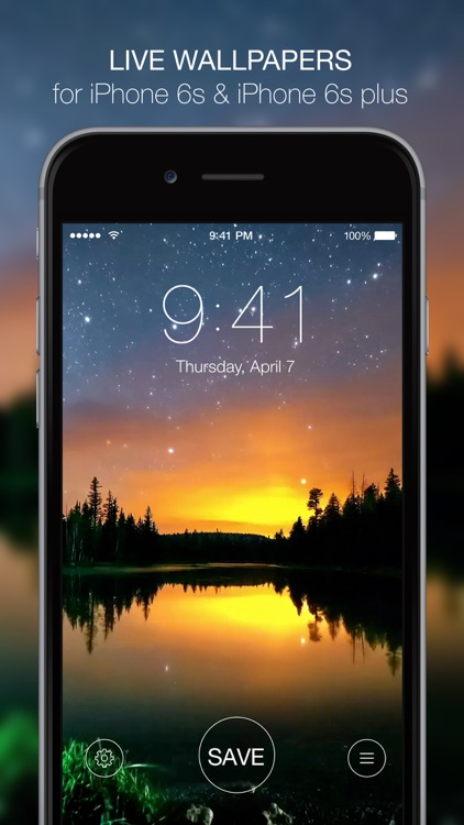Live Wallpapers for iPhone 6s - Animated Themes and Custom Dynamic Backgrounds screenshot-0