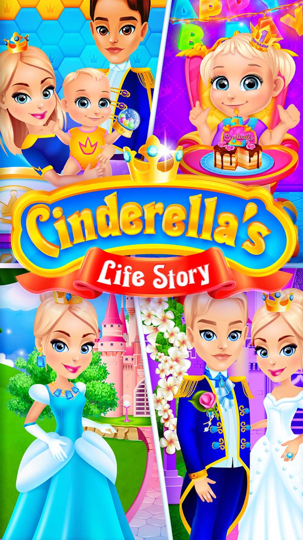 Cinderella's Life Story – Fairy Tale & Girls Games Cheat Codes