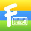 彩色字體鍵盤 ∞ 支援中文輸入法的免費可愛字體, 表情符號, 顏文字鍵盤