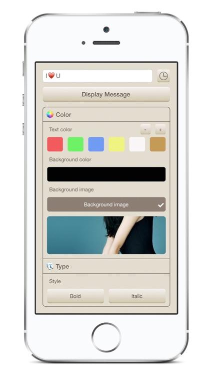 iLED - Ultimate LED Banner App