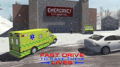 スノーレスキュー911 - 緊急救急車運転シミュレータのおすすめ画像4