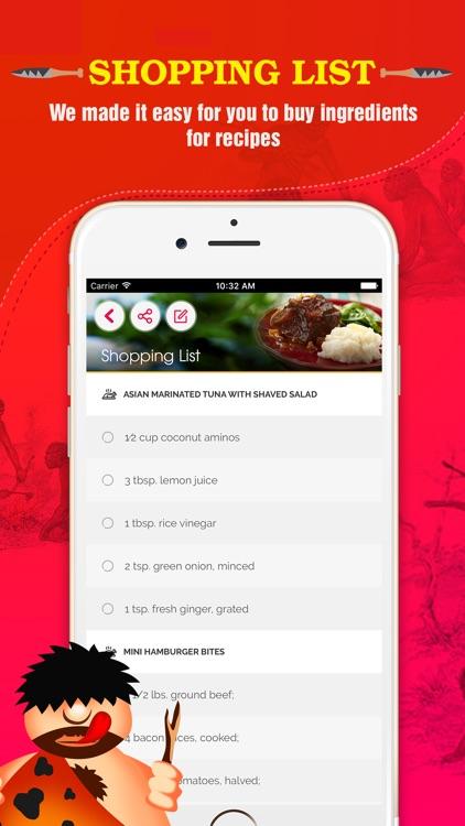 Paleo Diet Plan screenshot-4