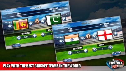 Cricket Play 3D - Live The Game (World Pro Team Challenge Cup 2016)-4