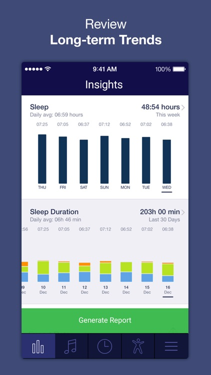 Sleep Time : Sleep Cycle Smart Alarm Clock Tracker, Insights Analysis, Better Soundscape screenshot-3