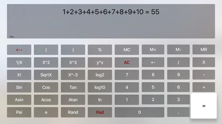 Exp Calculator