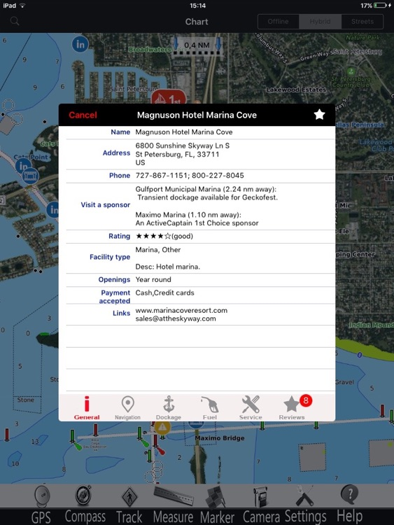 Puerto Rico GPS Nautical charts pro screenshot-1