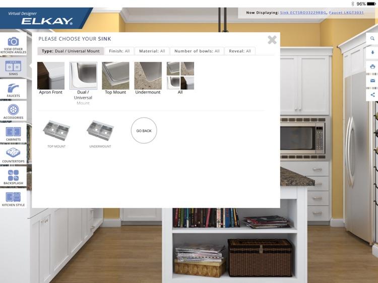 Elkay Virtual Designer screenshot-3