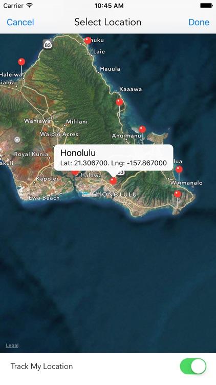 Hawaii Tide Times