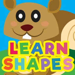 Baby Basic Shapes and Colors Wild Animals Games for Toddlers