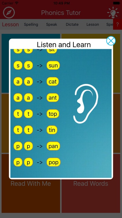 Phonics Tutor 3 screenshot-2