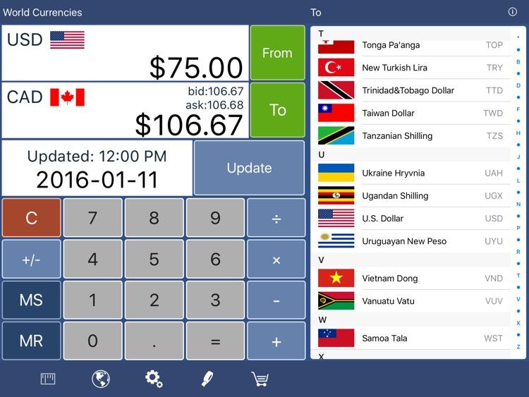 Converter Pro HD Free - Unit & Currency Conversion Calculator
