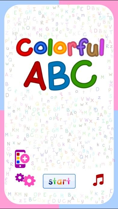 Colorful ABC (Nursery English Alphabets Flashcards for Kids | Montessori Education)-0