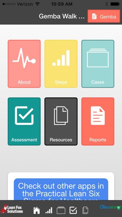 Healthcare Lean Roadmap and Gemba Walk screenshot-0