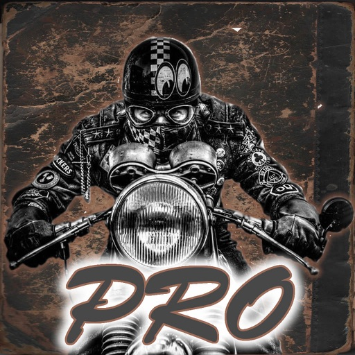 Bad Motorcycle Runner Pro - Super Road Legacy Royal icon