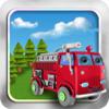 火災と戦う:消防車や消防・ラッシュアワーを...