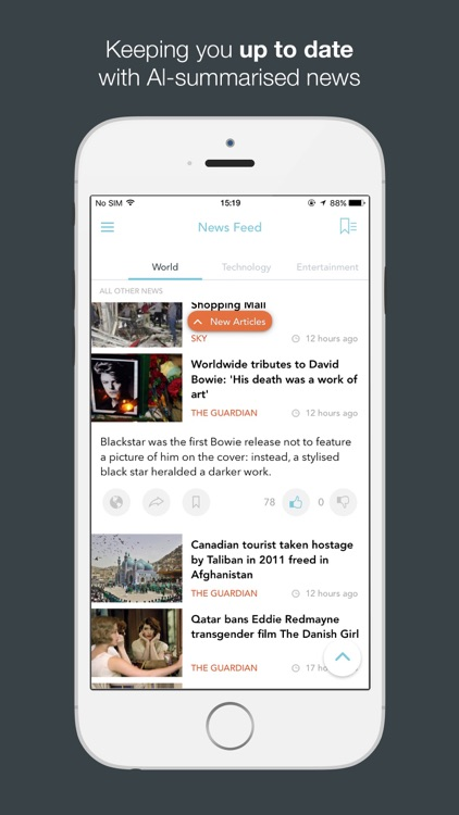 JarvisNews - AI Summarized News & Stories