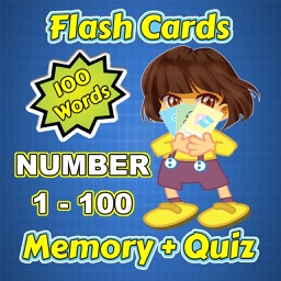 Flashcards and Games Of Number 1-100