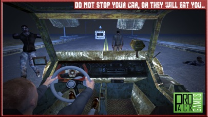 Zombie Highway Traffic Rider II - Insane racing in car view and apocalypse run experience screenshot two