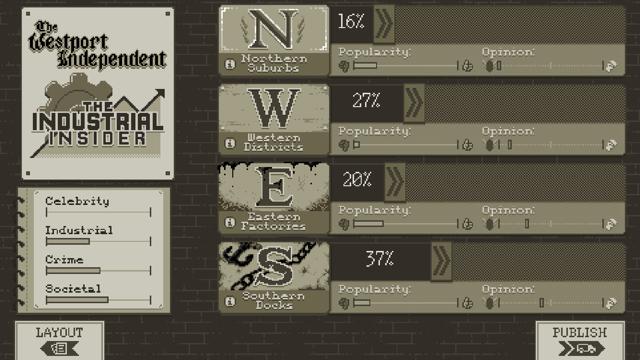 The Westport Independent Screenshot