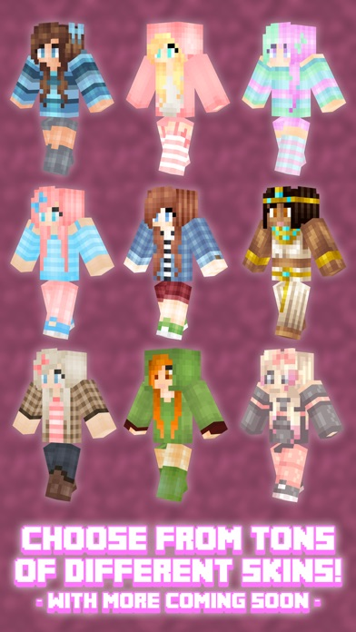 Girl Skins For Minecraft Pe (girl Skins Minecraft Pe) review screenshots