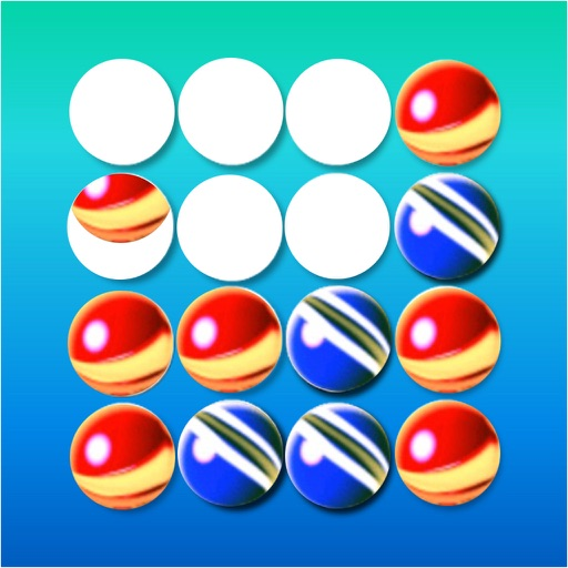 G4Rows - '4 in a row' puzzle game