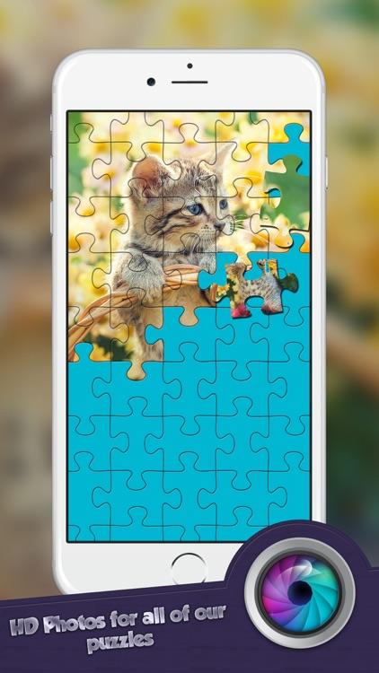 Jigsaw Cutest Kitten Ever Puzzle Puzz - Play To Enjoy screenshot-3