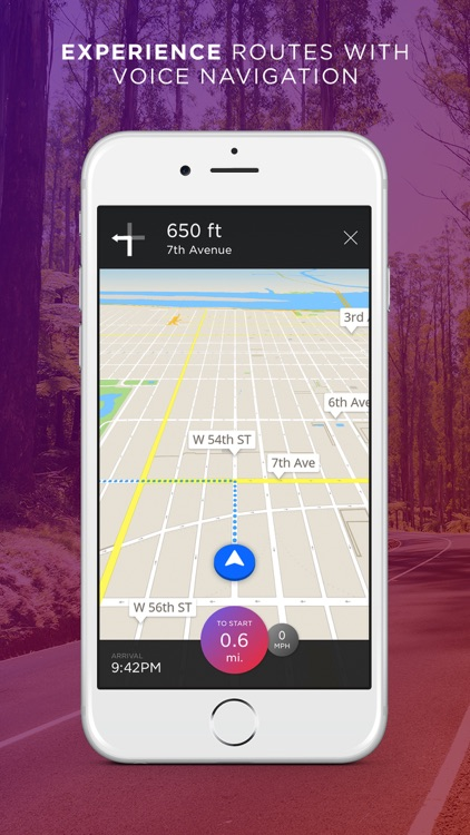 Round - Navigation for Scenic Routes, GPS Drive & Walk Tracker screenshot-2