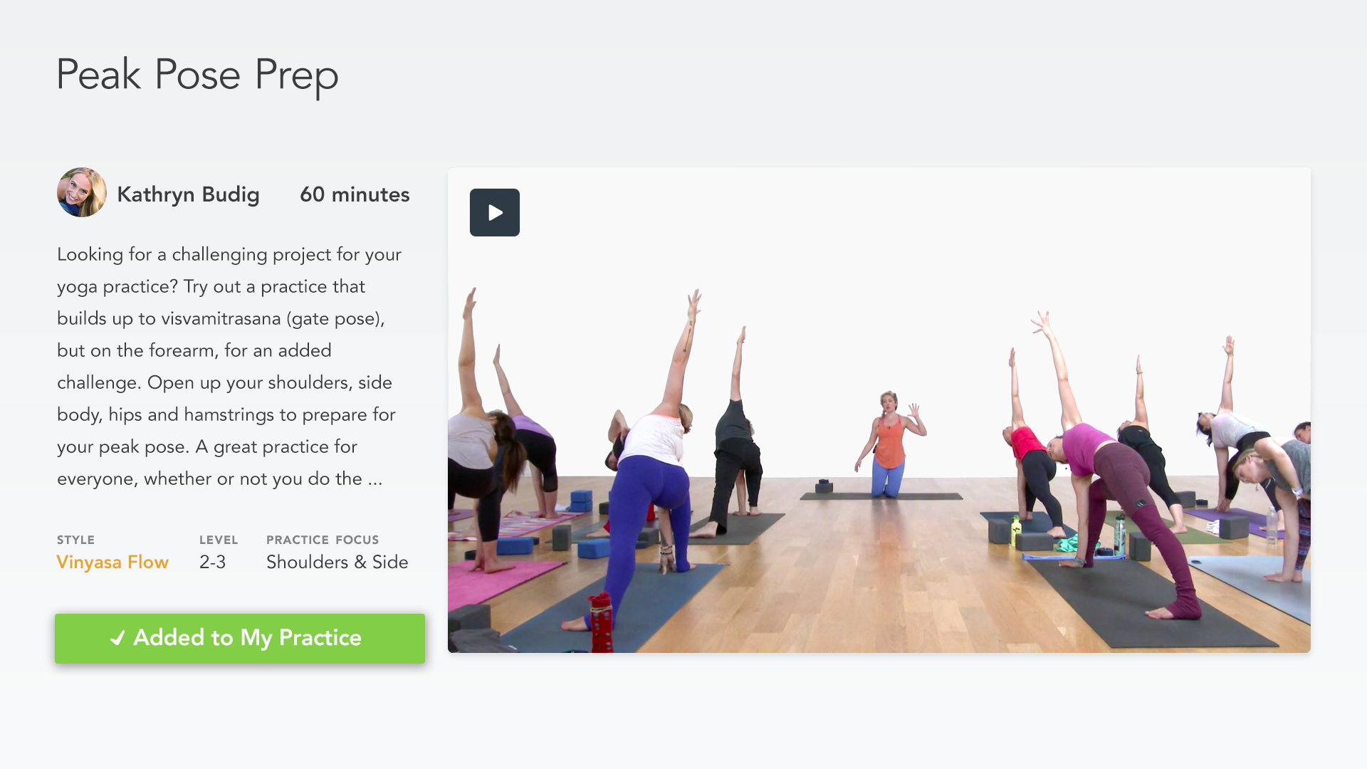 Glo | Yoga and Meditation App screenshot 16