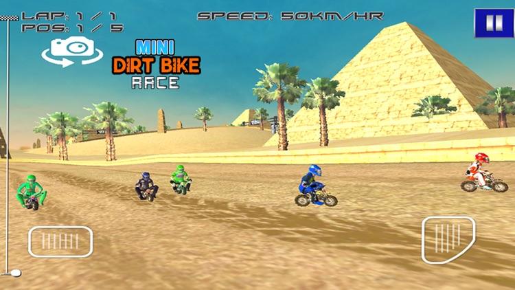 Mini Dirt Bike Race screenshot-4
