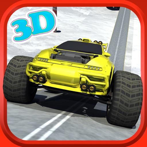 Monster Truck 3D Extreme racing car  truck -Stunt Simulator iOS App