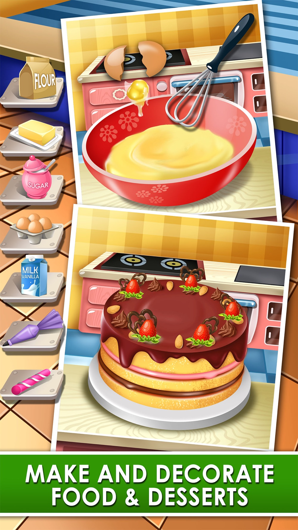 Food Making Kids Games & Maker Cooking hack tool