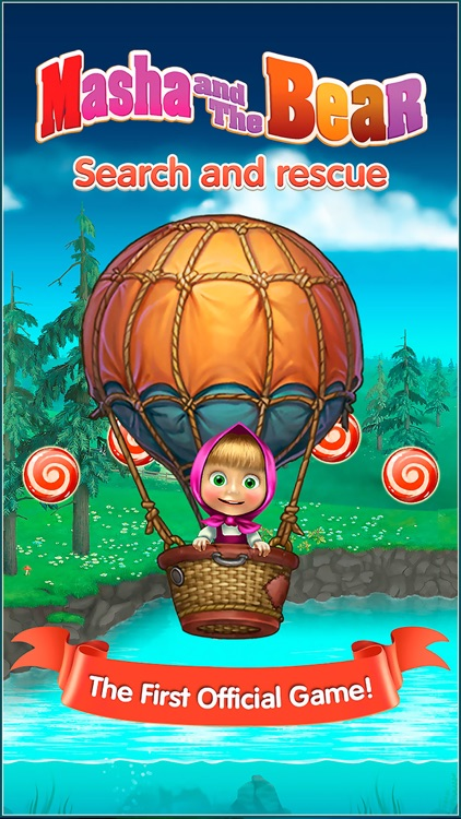 Masha and the Bear: search and rescue screenshot-0