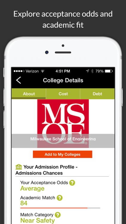 College Scholarship Calculator screenshot-3