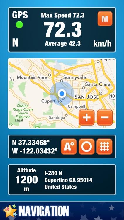 Live GPS -  الملاحة / برنامج تحديد المواقع / جي بي اس / خرائط