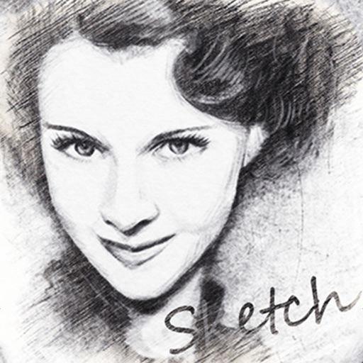 Pencil Sketch - Face Photo Camera & Drawing Foto Pad