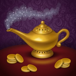 Aladdin and the Enchanted Lamp. Coloring book for children