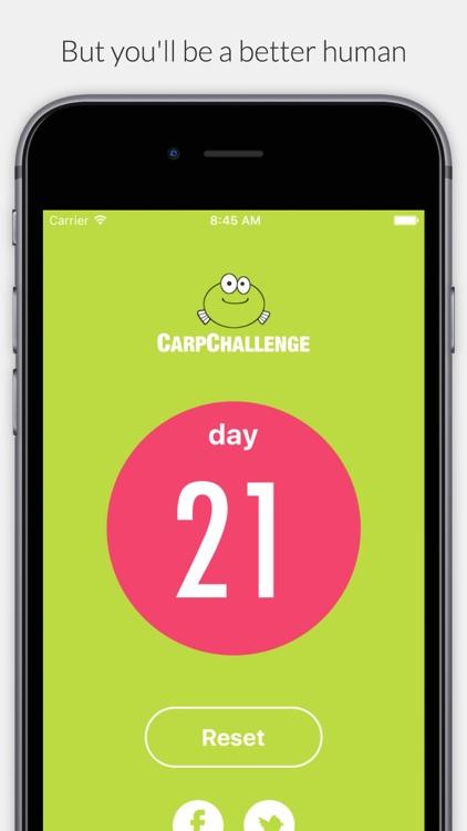 Carp - 21 Day No Complaint Challenge screenshot-3