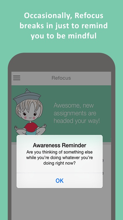 Refocus Pro - Focus and Concentration Training to boost productivity, performance, attention and memory screenshot-3