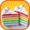 Rainbow Cake Maker - A crazy kitchen christmas cake tower making, baking & decorating game