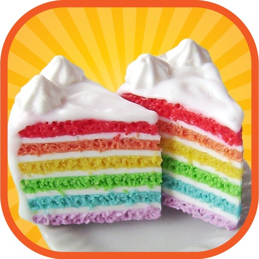 Rainbow Cake Maker - A crazy kitchen christmas cake tower making, baking & decorating game iOS App